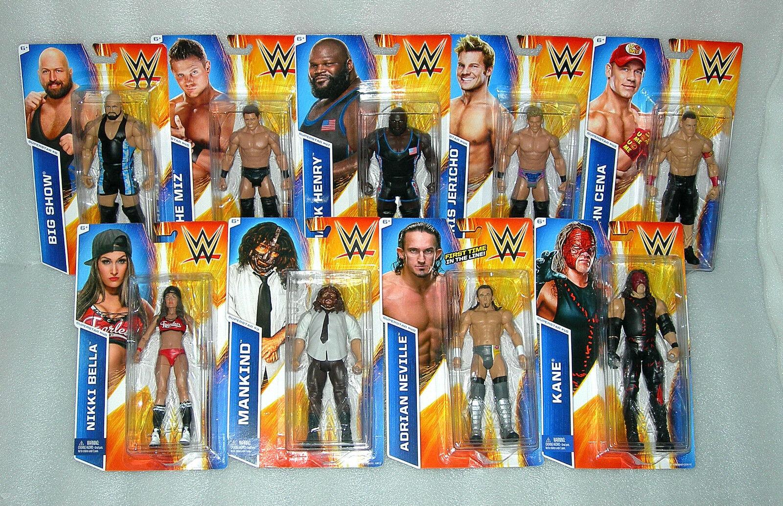 WWE Wrestling Figures - Assorted Characters - NISP