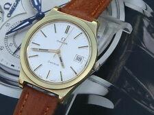 Omega Swiss Reloj para hombre de gran tamaño de gran tamaño vintage regalo de cumpleaños de servicio completo de 74