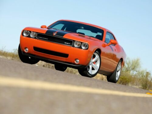 Challenger SRT8-2008 Art print Dodge