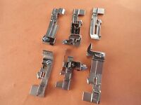 6 Sewing Serger Feet Kit Husqvarna Viking Coverlock 3.0 4.0 Huskylock S21, S25