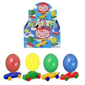 24 Pull Back Cars Bulk Buy Box Kids Party Bag Fillers School Fair PTA Toy Prizes