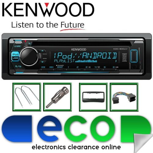 Fiat Multipla 1999-2010 KENWOOD CD MP3 USB Pantalla de Color multi KIT de estéreo de coche