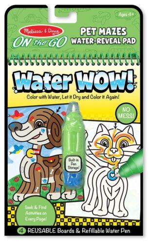 Melissa /& Doug eau Wow! Pet Voyage Creative Toys Activités BN
