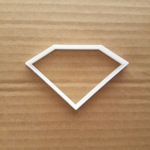 Diamant Forme Cookie Cutter Biscuit Pâtisserie Jewel pâte GEM JEWEL Stencil