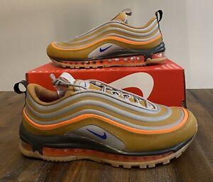 Logro cesar Centro comercial  Nike Air Max 97 utilidad Sepia Piedra Marrón Naranja Azul Hombre BQ5615-200  Talla 10.5 | eBay