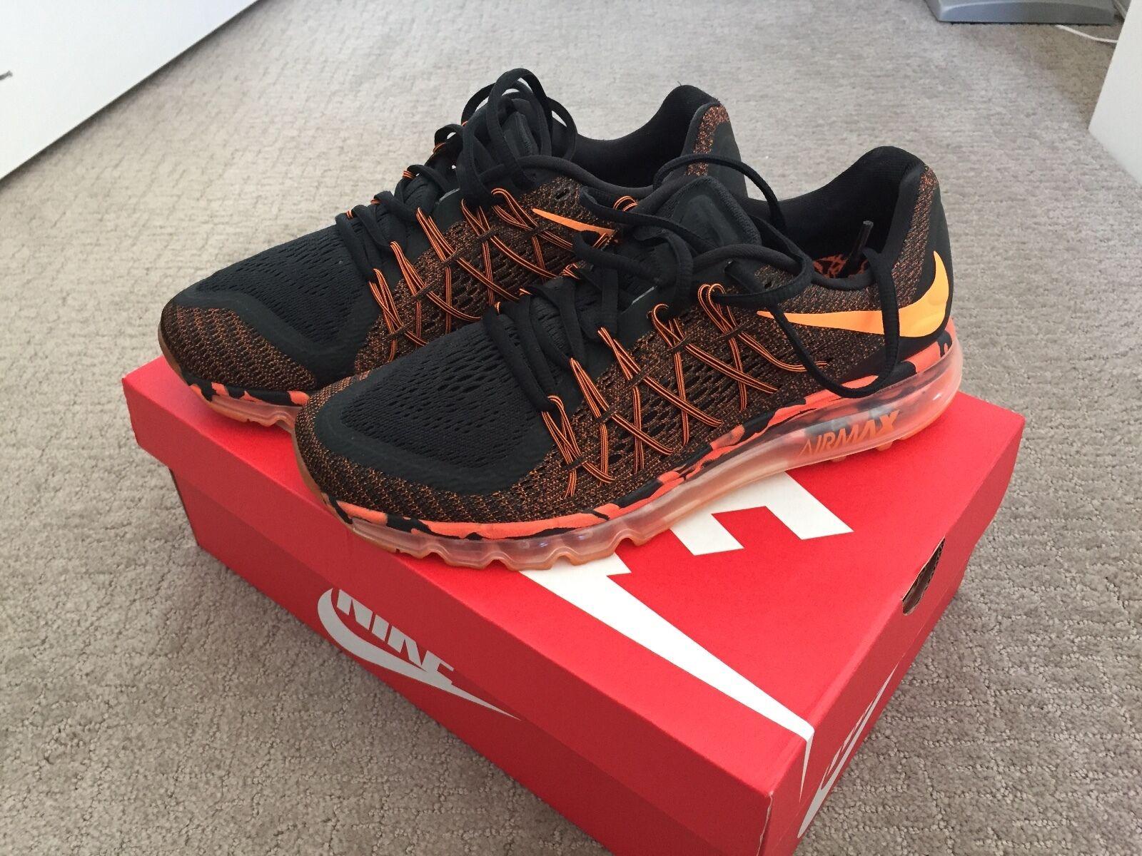 Nike air max, il premio scarpa dimensioni di colore arancione 749373-008 totale Uomo