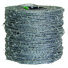 Durable Barbed Wire Fencing 1320 Ft 15 12 Gauge 4 Point High Tensile Farmgard