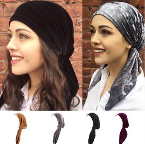 Muslim-Bonnet-Hijab-Head-Scarf-Turban-Chemo-Cap-Women-Hat-Headwrap-Wrap-Caps-New