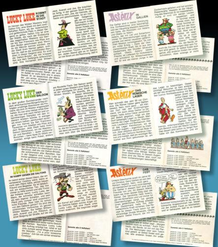 Lucky Luke ticket images 1971 Letraset KALKITOS Rub dowm transferts TRASFERIBILI
