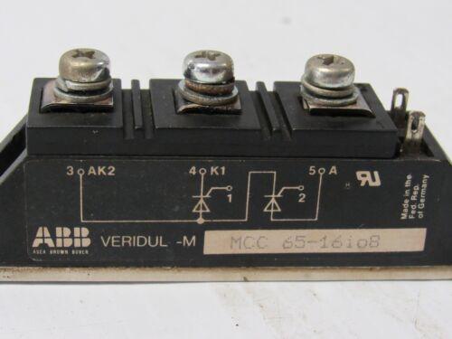 ABB POWER BLOCK MCC 65-16IO8 MCC6516IO8 USED