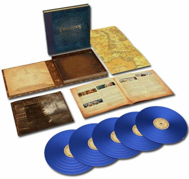 HOWARD SHORE LORD OF THE RINGS: THE TWO TOWERS COMPLETE VINYL 5LP NEW BLUE LTD.