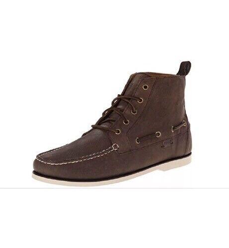 Brown Mens Polo Size Dark 10 Boots Barrott Ralph Lauren