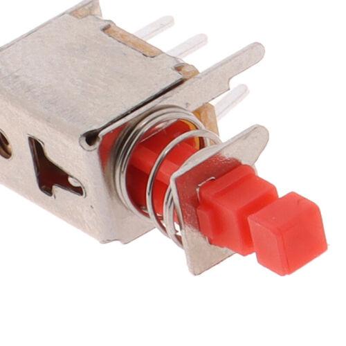 10pcs PS-22F03 Right Angle Push Button Switch 6 Pin Self-locking SwitcKRTScidn