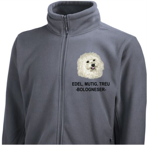 bolognese ricamo Siviwonder fustagno con di Giacca in Dog qO7UxI