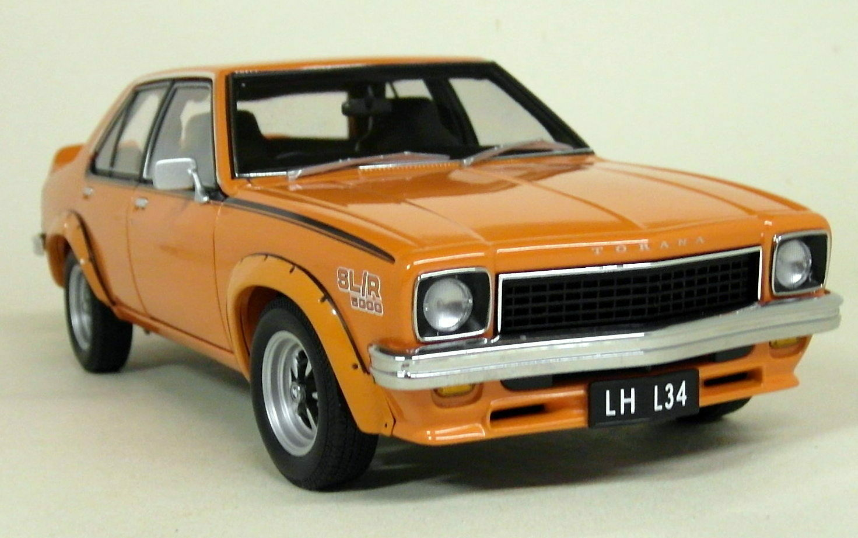 Autoart 1 18 Scale 73479 Holden LH Torana  L34 1974 Saffron diecast model Car