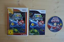 Wii - Super Mario Galaxy - (OVP, mit Anleitung)