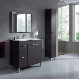 Image Is Loading Aktiva Bathroom Vanity Unit Wash Basin Base Cabinet