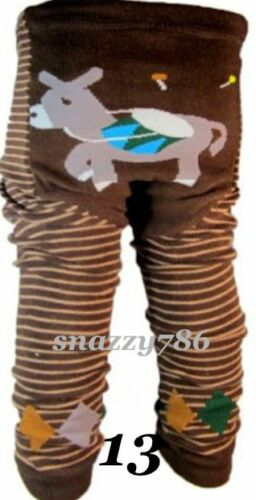 BABY RAGAZZI RAGAZZE cartoni animati della Disney Mix di Cotone Stretch Legging Pantaloni pants,6-24mths