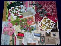 Anna Griffin Seasonal Paper Kit - - Over 110 Pieces - Clearance- Buy It Now