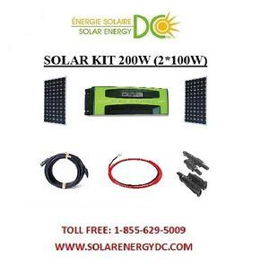 Solar-Panel-KIT-Panneau-Solaire-200W-200-Watt-2-100-W-mono-30A-MPPT-12V-RV-VR