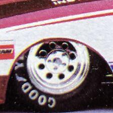 2 Draglite Drag Race Wheels W Goodyear Front Tires Rvl124 Lbr Model Parts Fob
