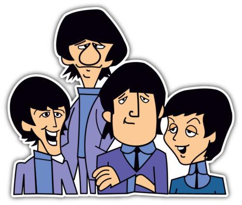 9/'/' The Beatles Cartoon Sticker Car Bumper Decal 12/'/' or 14/'/'