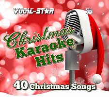 VOCAL-STAR CHRISTMAS XMAS KARAOKE CDG CD+G DISC SET - 40 FESTIVE SONGS