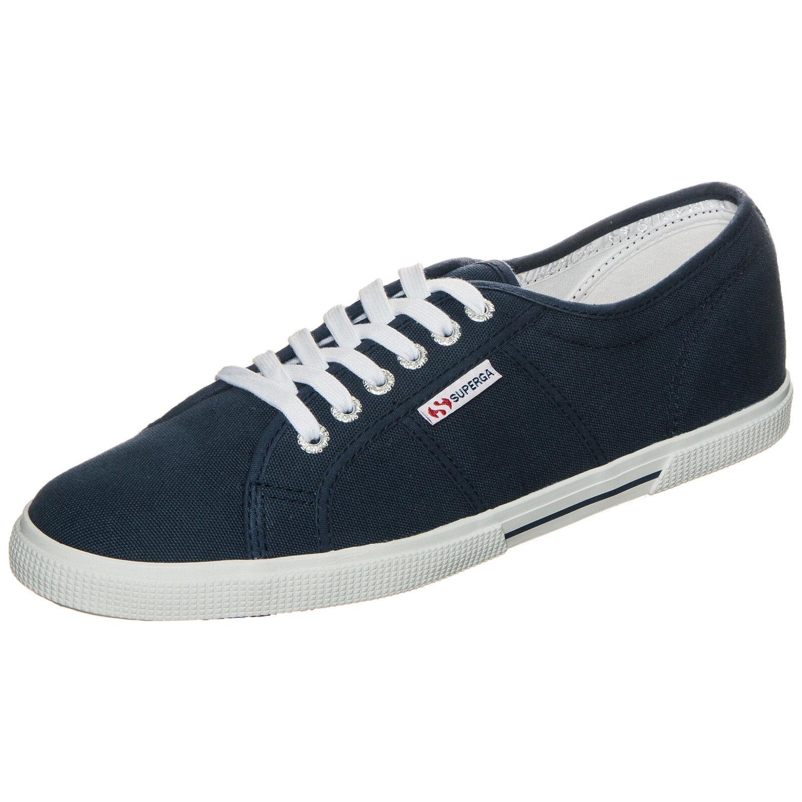 Superga Classic 2950 Cotu Classic Superga Sneaker Blau NEU Schuhe Turnschuhe 7535d5
