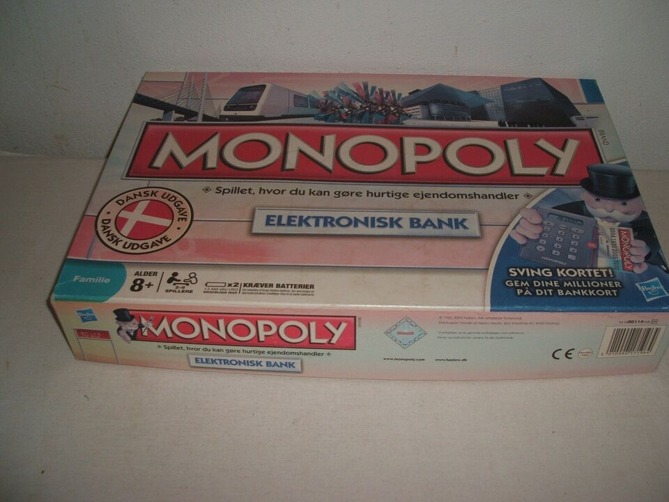 Monopoly, familiespil , brætspil