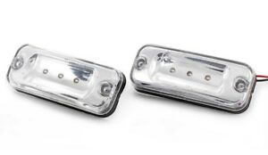 2x Roof Marker White Lights for DAF CF65 CF75 CF85 XF 95//105 OEM replace 1725410