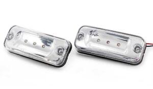 2x Tetto Indicatore Bianco Luci per DAF CF65 CF75 CF85 XF 95/105 Originale