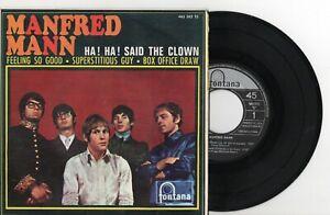 MANFRED-MANN-Ha-Ha-Said-The-Clown-3-EP-SPAIN-1967
