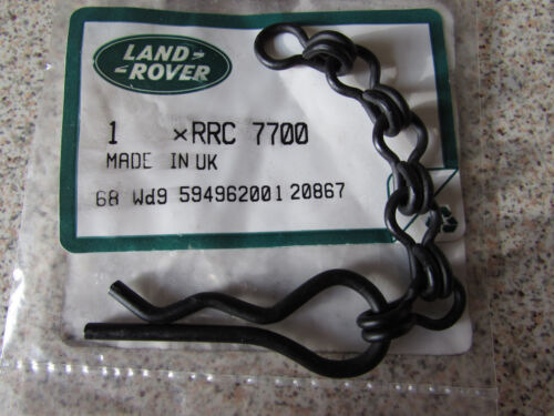 Genuine Land Rover Military Jerrycan Stowage Locker RClip and Chain RRC7700