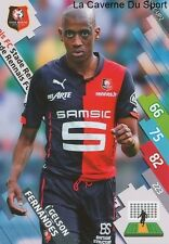 SRFC-UP2 GELSON FERNANDES SUISSE STADE RENNAIS CARD ADRENALYN FOOT 2015 PANINI