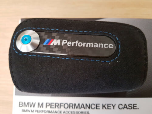 alcantara//CARBONIO BMW M2 COUPE BMW M PERFORMANCE Portachiavi Custodia