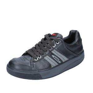 scarpe-donna-MBT-35-EU-sneakers-nero-pelle-activate-BZ914-B