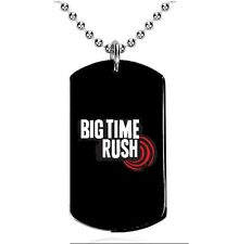 Big Time Rush - Colgante, Dog Tag, Placa militar, A