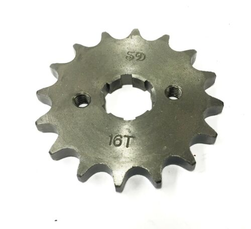 Gearing Upgrade 16 Tooth Front Sprocket for Chinese CG125 Motorcycle 156FMI