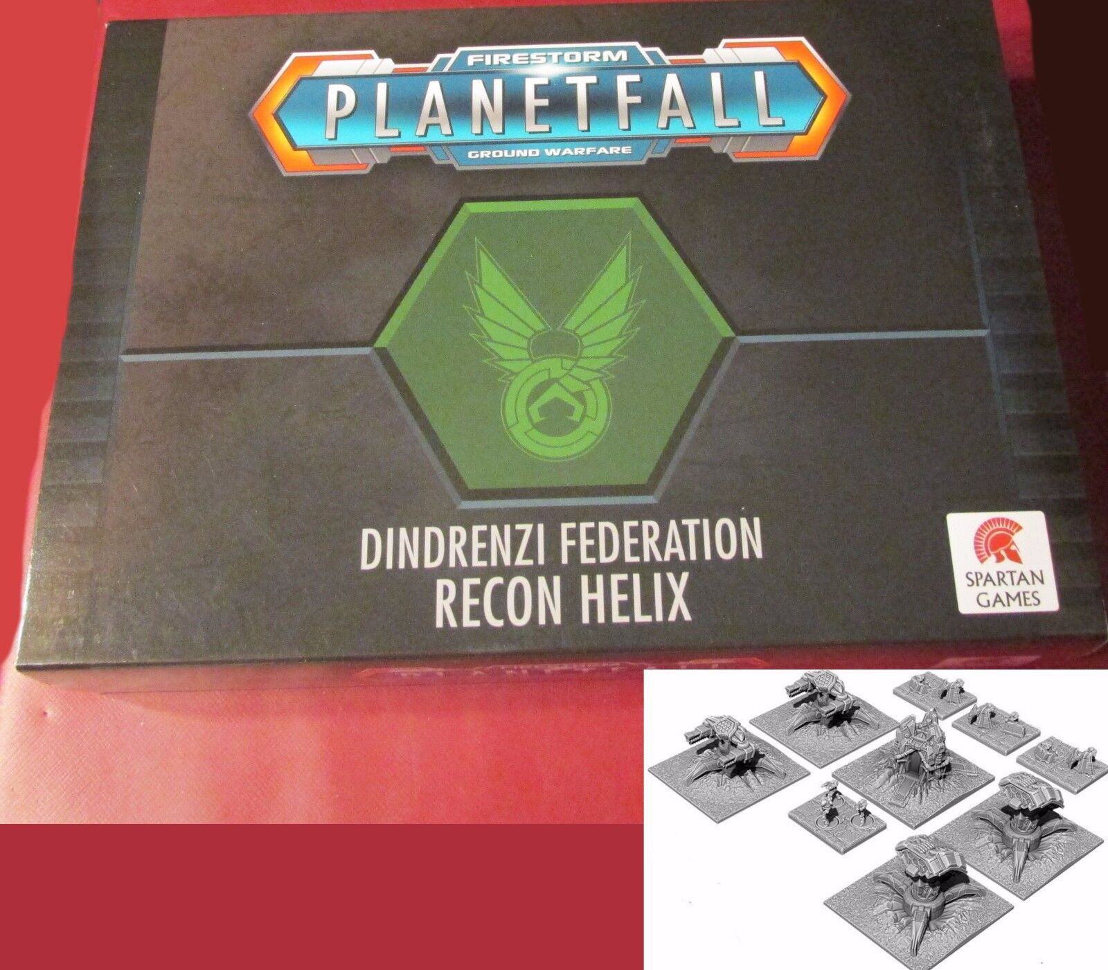 Planetfall PFDF04 Dindrenzi Federation Recon Helix Box Set (9) 10mm Miniatures
