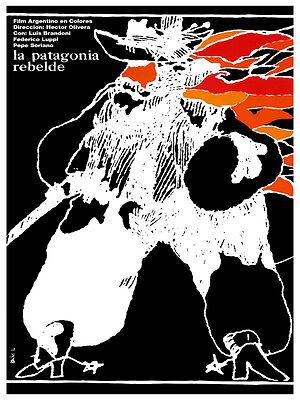 1207.Cuban movie Poster.La Patagonia.Room Art Decoration home Interior design