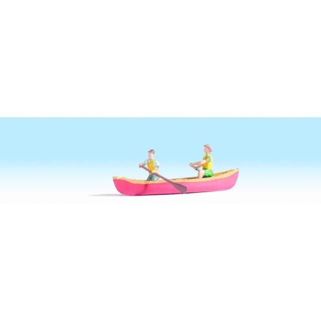 Noch 16805 Kanu, mit Figur (nicht schwimmfähig) H0 Neuware
