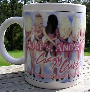 Las-Vegas-Riviera-Hotel-Coffee-Mug-Cup-Crazy-Girls-Sexiest-Topless-Revue-Nude