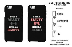 426fb0ca8d CUTE Couple Phone Cases, Every Beauty Needs Beast iPhone Galaxy ...