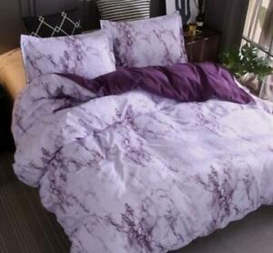 Contemporary-Gray-Simple-Marble-Bedding-Duvet-Cover-Set-Quilt-Cover-Twin-Queen