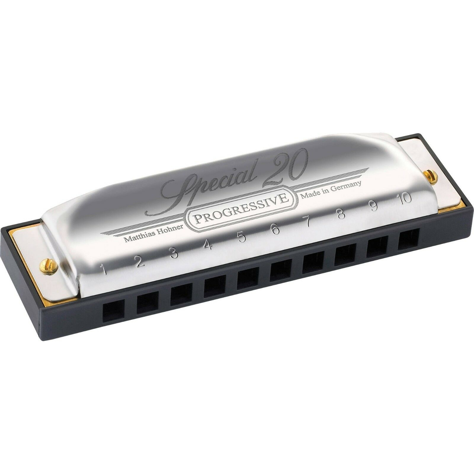 Hohner Special 20 Harmonica in C New Progressive Version  +Free Online Lessons