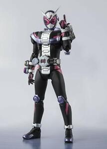 Bandai S.h.figurines Masqué Kamen Rider Zi-o Peint Fini Figurine Articulée Japon