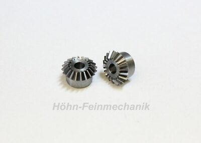 Module 0,5 1 Paire 20//20 Dents Engrenage Conique en Acier