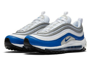 WOMEN S NIKE AIR MAX 97 OG BLUE WHITE TRAINERS 921733 101  c98628c65eb3