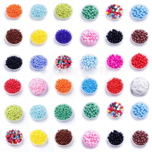 Wholesale Lots 1000 Pcs Czech Glass Seed Loose Spacer Beads Jewelry Making DIY