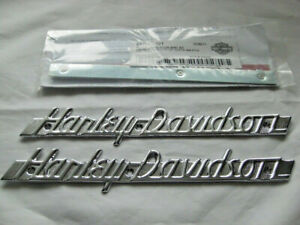 Harley Davidson 1952-54 Style Tankembleme Tankschilder mit Adapter Kit 61774-51T